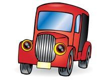 Old car cartoon Stock Photography