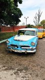 Old Car - Cuba. Most new vehicles came to Cuba from the United States until the 1960 United States embargo against Cuba ended importation of both cars and their stock image