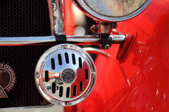 Old car closeup Royalty Free Stock Photo
