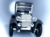 Old car conceptual image. Picture of toy car Royalty Free Stock Photos