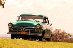 Old car in cuba Stock Photos