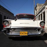 Old car in Cuba Royalty Free Stock Images
