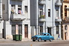 Old car in Cuba Stock Photos