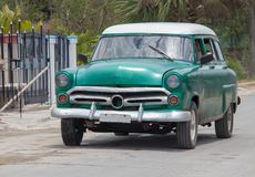 An Old Car in Cuba stock images