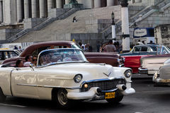 Old car in cuba streets Stock Image