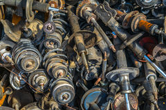 Old car dampers Royalty Free Stock Photos
