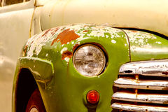 Old Car Detail Royalty Free Stock Photography