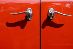Old car door Stock Photography