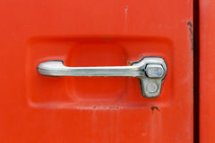 Old car door handle Stock Photography