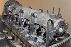 Old car engine Royalty Free Stock Images