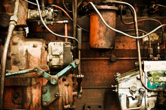 Old car engine. Stock Photography