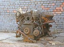 Old car engine Stock Image