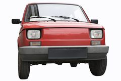 An old car - fiat 126p Royalty Free Stock Photo