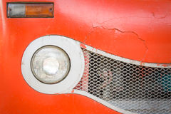 Old car front background Royalty Free Stock Photography
