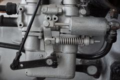 old car gas engine royalty free stock photography