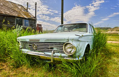 Old car in ghost town of Dorothy Royalty Free Stock Photography