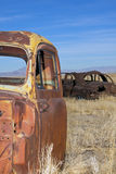 Old Car Graveyard Stock Photo