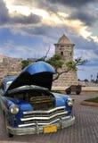 Old car in havana Stock Photos