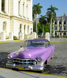 Old car  in Havana Royalty Free Stock Images