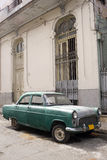 Old Car, Havana, Cuba Royalty Free Stock Photos