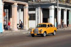 Old car in Havana Stock Image