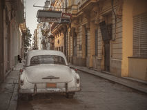 Old car in Havana Stock Images