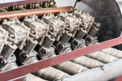 Old Car Internal Combustion Engine Royalty Free Stock Photo