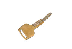 Old car key broken Royalty Free Stock Image