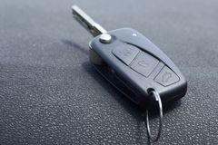 Old car key detail Stock Photos