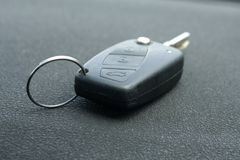 Old car key detail Stock Photography