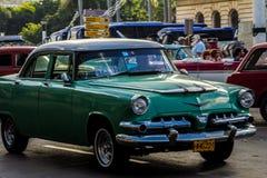 Old car in la havana street Royalty Free Stock Photography