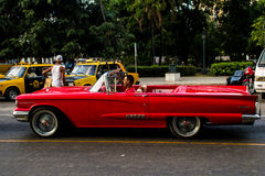 Old car in la havana street Stock Photo
