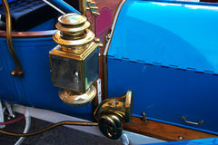 Old Car lantern and Horn. Particularly the lantern and horn a vintage car Royalty Free Stock Images