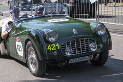 Old car in the Mille Miglia race Stock Photos