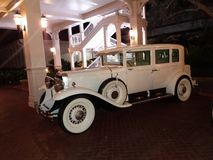 Old Car. Outside of Disney& x27;s Grand Floridian Resort & Spa Royalty Free Stock Photos