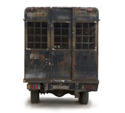 Old car prison. Royalty Free Stock Photography