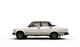 Old car profile Stock Photo