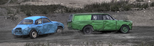 Old Car Racing Stock Image