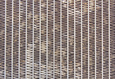 Old car radiator grill Royalty Free Stock Image