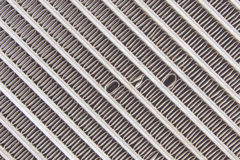 Old car radiator grill Royalty Free Stock Photos