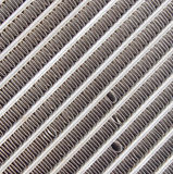 Old car radiator grill Royalty Free Stock Photos