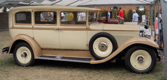 Old Vintage Rolls-Roys Limousine car royalty free stock image