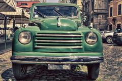 Old car in Rome Royalty Free Stock Photo