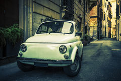 Old car, Rome. Stock Image