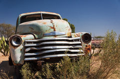 Old car in Solitaire, Namibia Stock Photography