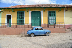 Old car on street in Havana Cuba. Old car on street in Cuba royalty free stock photo