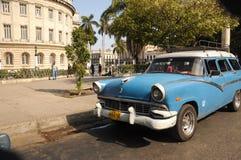 Old car on street in Havana Cuba Stock Photo