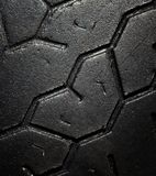 Old car tire Royalty Free Stock Photos