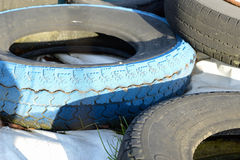 old car tires Royalty Free Stock Image