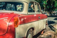 Old car Trabant royalty free stock photo